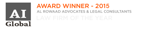AI Global Awards - Law firm of the Year 2015